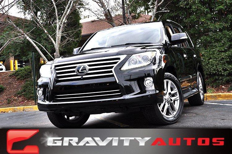 Used 2013 Lexus LX 570 for sale Sold at Gravity Autos in Roswell GA 30076 1