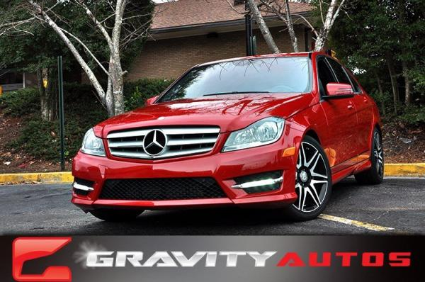 Used 2013 Mercedes-Benz C-Class C250 Sport for sale Sold at Gravity Autos in Roswell GA 30076 1