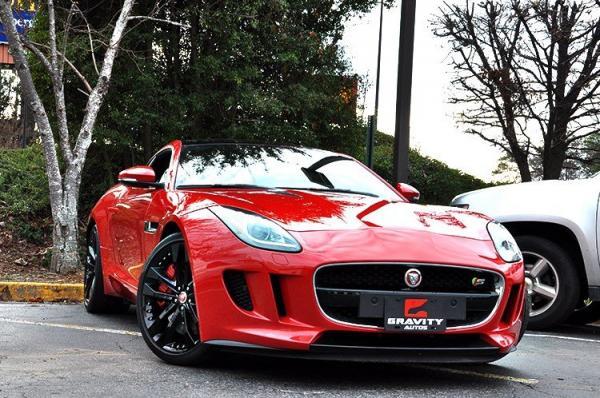 Used 2015 Jaguar F-TYPE V6 S for sale Sold at Gravity Autos in Roswell GA 30076 2