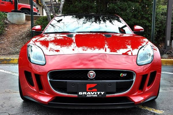 Used 2015 Jaguar F-TYPE V6 S for sale Sold at Gravity Autos in Roswell GA 30076 3