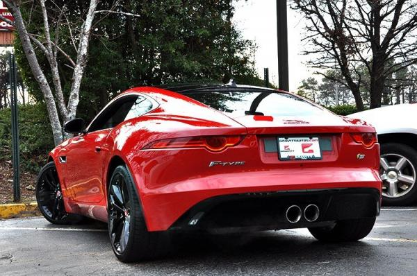 Used 2015 Jaguar F-TYPE V6 S for sale Sold at Gravity Autos in Roswell GA 30076 4