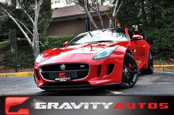 Used 2015 Jaguar F-TYPE V6 S for sale Sold at Gravity Autos in Roswell GA 30076 1