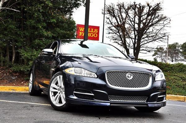 Used 2013 Jaguar XJ XJL Portfolio for sale Sold at Gravity Autos in Roswell GA 30076 2