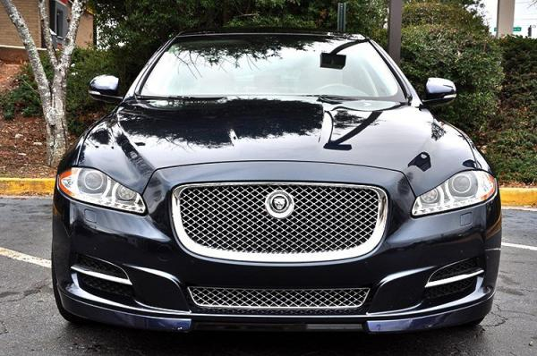 Used 2013 Jaguar XJ XJL Portfolio for sale Sold at Gravity Autos in Roswell GA 30076 3