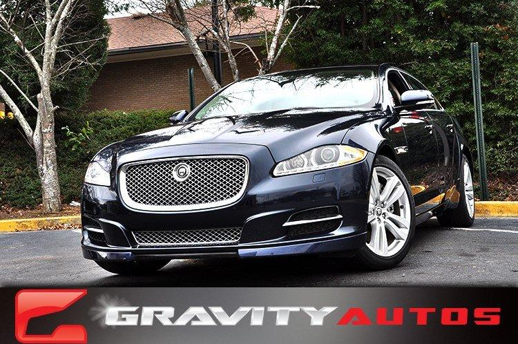 Used 2013 Jaguar XJ XJL Portfolio for sale Sold at Gravity Autos in Roswell GA 30076 1