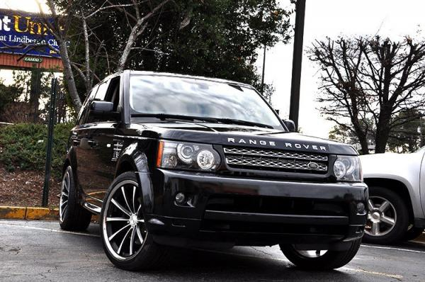 Used 2012 Land Rover Range Rover Sport HSE LUX for sale Sold at Gravity Autos in Roswell GA 30076 2