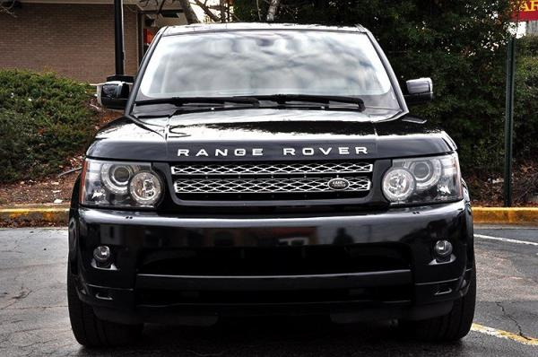 Used 2012 Land Rover Range Rover Sport HSE LUX for sale Sold at Gravity Autos in Roswell GA 30076 3