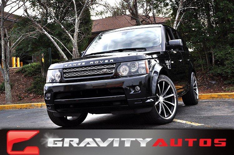 Used 2012 Land Rover Range Rover Sport HSE LUX for sale Sold at Gravity Autos in Roswell GA 30076 1