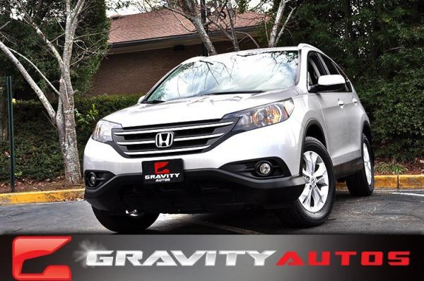 Used 2012 Honda CR-V EX-L for sale Sold at Gravity Autos in Roswell GA 30076 1