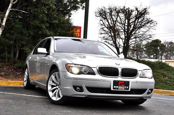Used 2007 BMW 7 Series 750Li for sale Sold at Gravity Autos in Roswell GA 30076 2