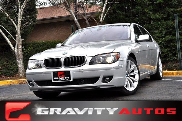 Used 2007 BMW 7 Series 750Li for sale Sold at Gravity Autos in Roswell GA 30076 1