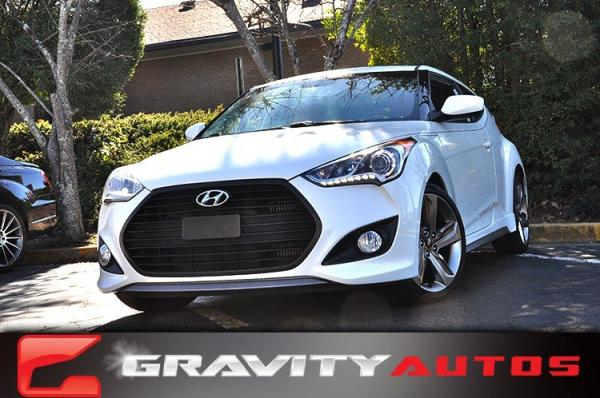 Used 2015 Hyundai Veloster Turbo R-Spec for sale Sold at Gravity Autos in Roswell GA 30076 1