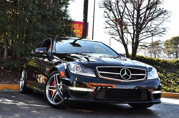 Used 2012 Mercedes-Benz C-Class C63 AMG for sale Sold at Gravity Autos in Roswell GA 30076 2