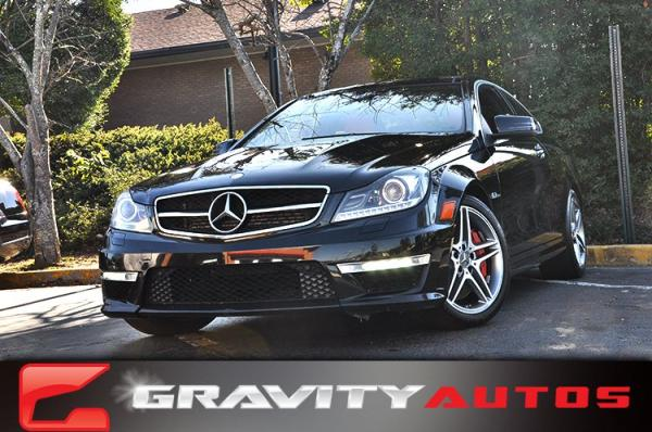 Used 2012 Mercedes-Benz C-Class C63 AMG for sale Sold at Gravity Autos in Roswell GA 30076 1
