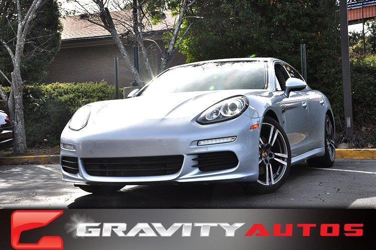 Used 2014 Porsche Panamera for sale Sold at Gravity Autos in Roswell GA 30076 1