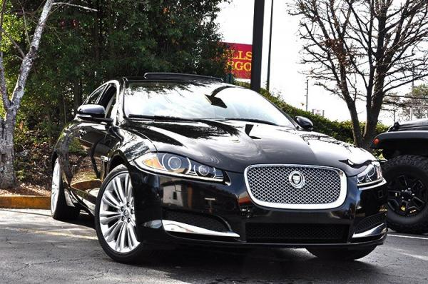 Used 2012 Jaguar XF Portfolio w/Sport Pkg for sale Sold at Gravity Autos in Roswell GA 30076 2