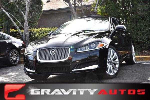 Used 2012 Jaguar XF Portfolio w/Sport Pkg for sale Sold at Gravity Autos in Roswell GA 30076 1