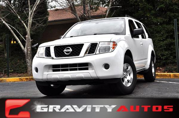 Used 2011 Nissan Pathfinder S for sale Sold at Gravity Autos in Roswell GA 30076 1