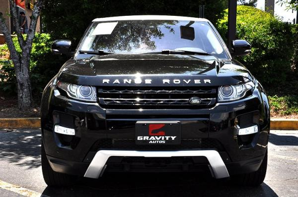 Used 2013 Land Rover Range Rover Evoque Range Rover Evoque Dynamic Premium for sale Sold at Gravity Autos in Roswell GA 30076 3