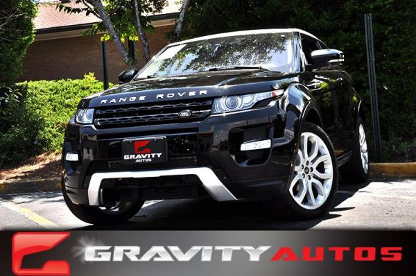 Used 2013 Land Rover Range Rover Evoque Range Rover Evoque Dynamic Premium for sale Sold at Gravity Autos in Roswell GA 30076 1