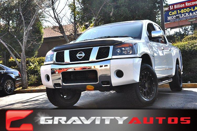 Used 2004 Nissan Titan XE for sale Sold at Gravity Autos in Roswell GA 30076 1