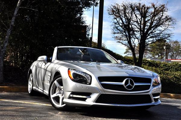 New 2014 Mercedes-Benz SL-Class SL-Class SL 550 for sale Sold at Gravity Autos in Roswell GA 30076 2