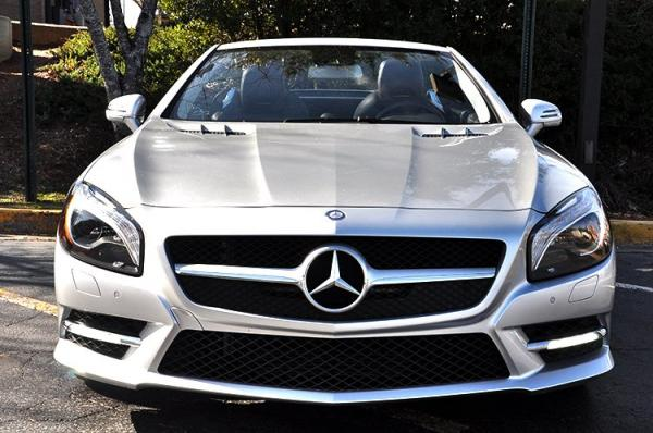 New 2014 Mercedes-Benz SL-Class SL-Class SL 550 for sale Sold at Gravity Autos in Roswell GA 30076 3