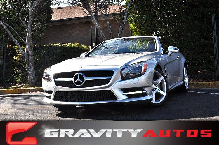 New 2014 Mercedes-Benz SL-Class SL-Class SL 550 for sale Sold at Gravity Autos in Roswell GA 30076 1