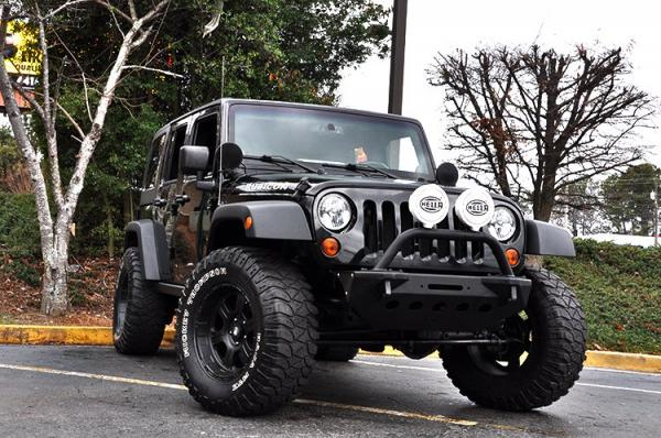 Used 2013 Jeep Wrangler Unlimited Rubicon for sale Sold at Gravity Autos in Roswell GA 30076 2