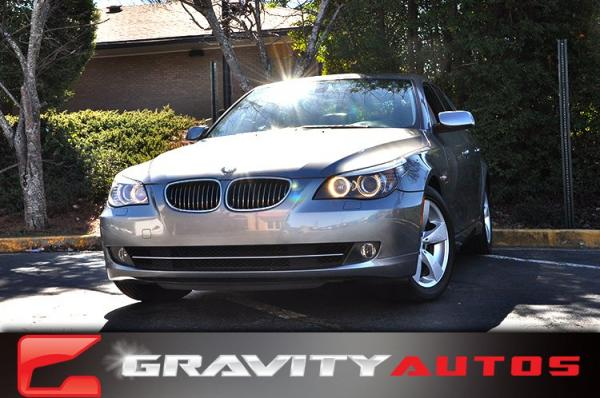 Used 2008 BMW 5 Series 528i for sale Sold at Gravity Autos in Roswell GA 30076 1