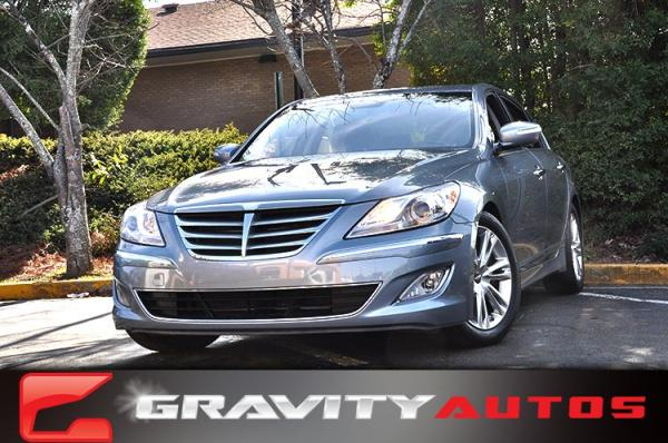 Used 2014 Hyundai Genesis 3.8L for sale Sold at Gravity Autos in Roswell GA 30076 1
