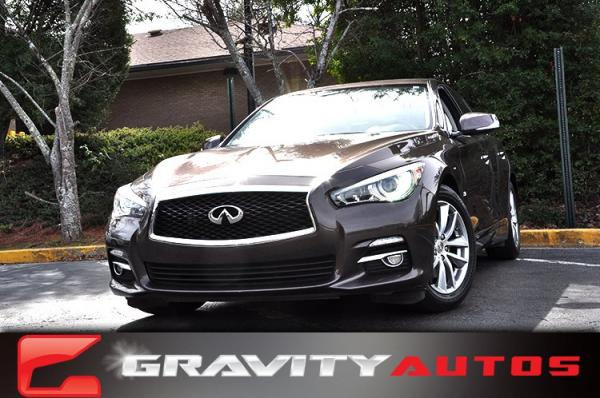 Used 2014 INFINITI Q50 Premium for sale Sold at Gravity Autos in Roswell GA 30076 1