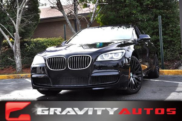 Used 2014 BMW 7 Series 740Li for sale Sold at Gravity Autos in Roswell GA 30076 1
