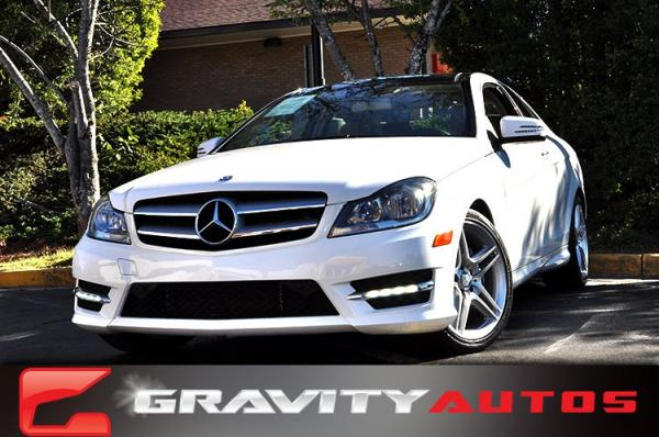 Used 2013 Mercedes-Benz C-Class C 350 for sale Sold at Gravity Autos in Roswell GA 30076 1